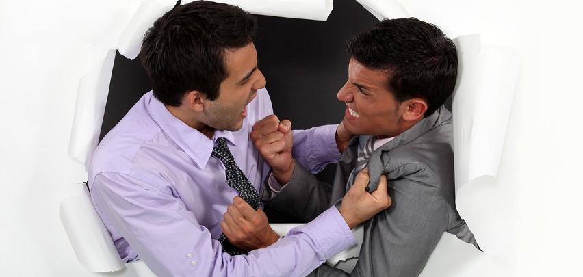 Aggressivem Verhalten